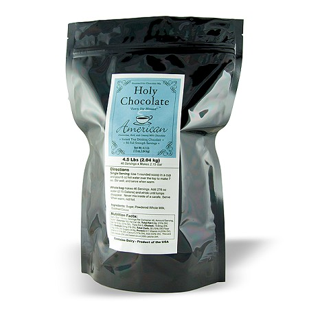 Chocolate Lovers 4.5LB Gourmet Hot Chocolate Mix
