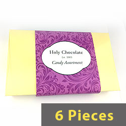 6pc Gift Box - Chocolate Candy