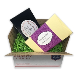 Gift Box - Hot Chocolate and 12 pc Candies Sampler